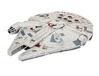 Revell Star Wars Build & Play Model Kit with Sound & Light Up 1/164 Millennium Falcon