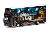 Corgi Harry Potter Diecast Model 1/76 Wright Eclipse Gemini 2 Warner Bros. Studio Shuttle Bus