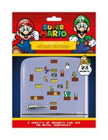 Pyramid International Super Mario Fridge Magnets Mushroom Kingdom