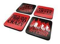 Pyramid International Stranger Things Coaster 4-Pack Phrases