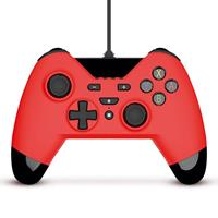 gioteck WX4 Wired Controller Red for Switch, PS3 and PC