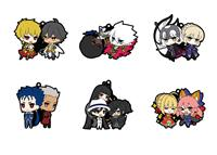 Megahouse Fate / Grand Order Rubber Mascot 6 cm Assortment (6)
