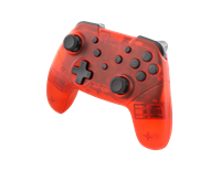 nyko Wireless Core Controller (Transparent Red)