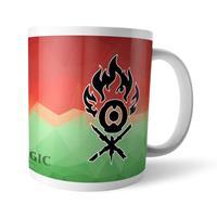 THG Magic the Gathering Mug GOR Fractal Gruul