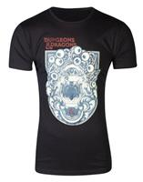 Difuzed Dungeons & Dragons T-Shirt Poster Size S