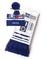 Difuzed Star Wars Beanie & Scarf Set R2-D2