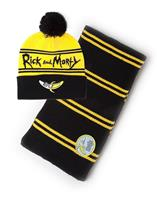 Difuzed Rick & Morty Beanie & Scarf Set Banana