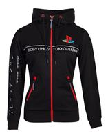 Difuzed Sony Playstation Ladies Hooded Sweater Cut & Sew Tech19 Size XL