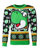 Difuzed Nintendo Knitted Christmas Sweater Super Mario Yoshi Size L