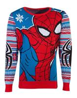 Difuzed Marvel Knitted Christmas Sweater Spider-Man Size L