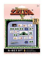 Pyramid International The Legend of Zelda Fridge Magnets Retro