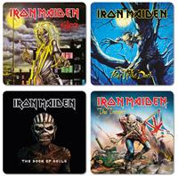 KKL Iron Maiden Coaster Pack (4)