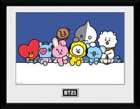 GB eye BT21 Framed Poster Group