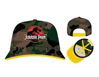 PCM Jurassic Park Baseball Cap Logo Camo