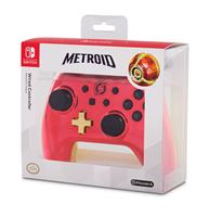 PowerA Chrome Controller Red Samus, Switch