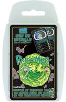 Winning Moves Rick & Morty Card Game Top Trumps *French Version*