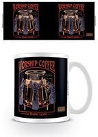 Pyramid International Steven Rhodes Mug Worship Coffee