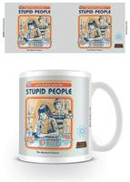 Pyramid International Steven Rhodes Mug Let's Find A Cure For Stupid People