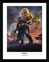 GB eye Magic the Gathering Framed Poster Ajani Strength of the Pride