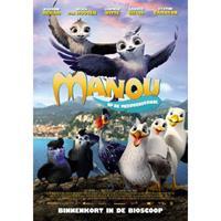 Manou op de Meeuwenschool (DVD)