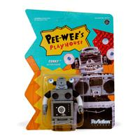 Super7 Pee-wee's Playhouse ReAction Action Figure Conky 10 cm