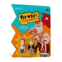 Super7 Pee-wee's Playhouse ReAction Action Figure 2-Pack Randy & Billy Baloney