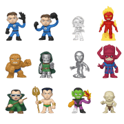 Fantastic Four Mystery Minis Vinyl Mini Figures 6 cm Display (12)