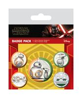 Pyramid International Star Wars Episode IX Pin Badges 5-Pack Droids