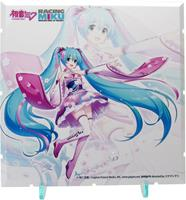 PLM Dioramansion 150 Decorative Parts Racing Miku 2019 Pit Optional Panel Haregi Ver.