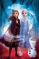 Pyramid International Frozen 2 Poster Pack Guided Spirit 61 x 91 cm (5)