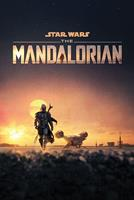 Pyramid International Star Wars The Mandalorian Poster Pack Dusk 61 x 91 cm (5)