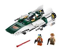 LEGO ® Star Wars Episode IX - Resistance A-Wing Starfighter