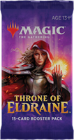 Wizards of The Coast Magic the Gathering TCG Throne of Eldraine Booster Pack