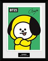 GB eye BT21 Framed Poster Characters Stack