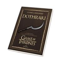 Zauberfeder Game of Thrones Book Living Language Dothraki *German Version*