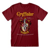 Heroes Inc Harry Potter T-Shirt Gryffindor Red Crest Size XL