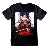 Heroes Inc Star Wars Episode IX T-Shirt Poster Size S