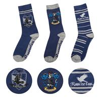 Cinereplicas Harry Potter Socks 3-Pack Ravenclaw