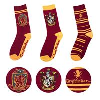 Cinereplicas Harry Potter Socks 3-Pack Gryffindor