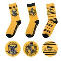 Cinereplicas Harry Potter Socks 3-Pack Hufflepuff