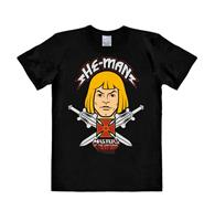 Logoshirt Masters of the Universe Easy Fit T-Shirt Face Size XL