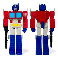 Super7 Transformers ReAction Action Figure Wave 1 Optimus Prime 10 cm