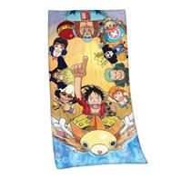Herding One Piece Velour Towel Straw Hat Pirates 75 x 150 cm