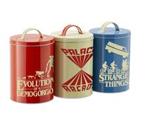 Funko Stranger Things Kitchen Storage Tins Silhouette