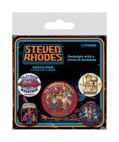 Pyramid International Steven Rhodes Pin Badges 5-Pack Collection