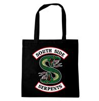 Logoshirt Harry Potter Tote Bag South Side Serpents