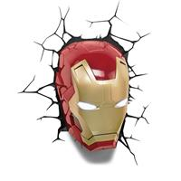 3Dlight Marvel 3D LED Light Iron Man