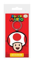 Pyramid International Super Mario Rubber Keychain Toad 6 cm