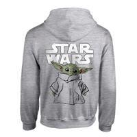 Heroes Inc Star Wars The Mandalorian Hooded Sweater Child Sketch Size M