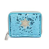 Loungefly Disney by  Wallet Elsa Reversible Sequin